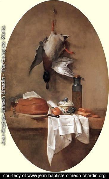 still life with duck home office jean baptiste simeon chardin the complete works still