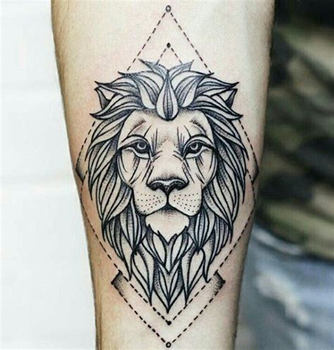 lion tattoo design ideas  pinterest mandala lion tattoo lion tattoo  lion arm