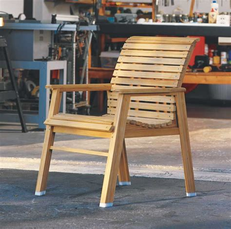 Wood Patio Chair Plans How To Make A Patio Chair Diy Outdoor Furniture Tutorial