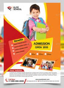 education poster templates image gallery school flyers