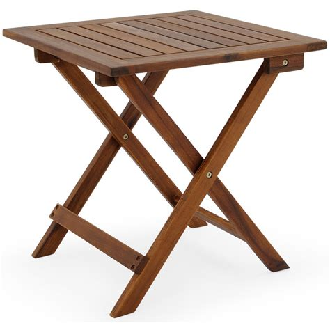 wooden outdoor table wooden folding coffee table side table 4250525300628