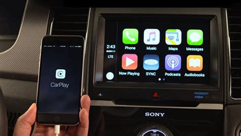 ford sync update ces 2016 ford updates sync 3 with apple carplay and