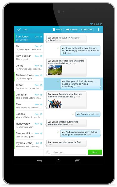 android layout design for tablet mysms for android tablets starflower design collective