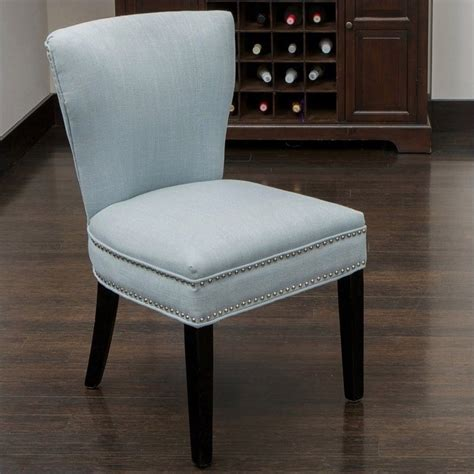 kitchen accent furniture trent home johnathan accent dining chair in ocean blue