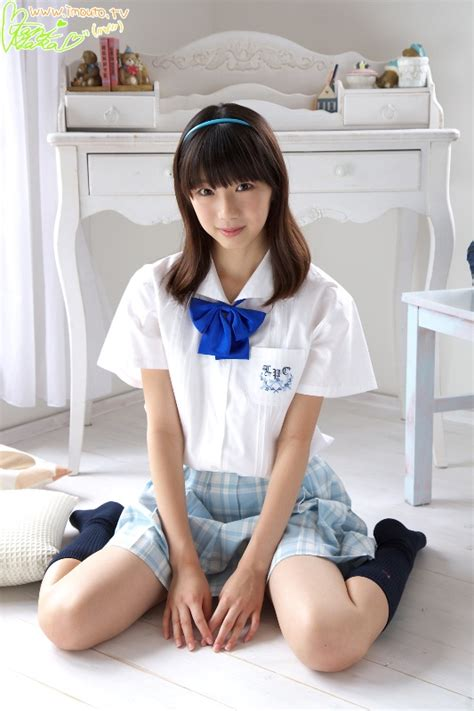 junior idol t back imouto tv ayaka ootani 大谷彩夏 school uniform x idol girls