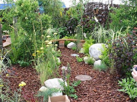 Gartengestaltung Mit Rindenmulch