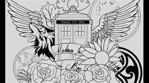 dr who tattoos tattoo collections