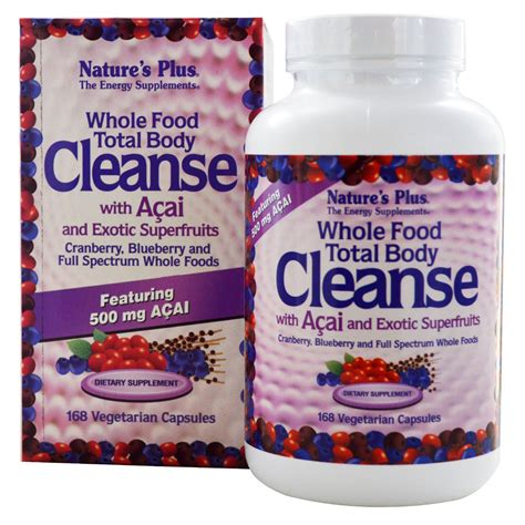 What Is The Best Total Detox Cleanse by Nature S Plus Whole Food Total Cleanse With Acai
