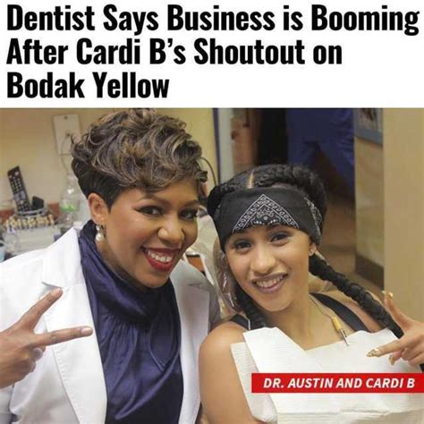 Cardi B Memes - dopl3r com memes dentist says business is booming after cardi bs shoutout on bodak yellow dr