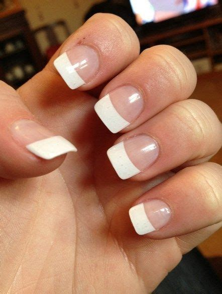 White Tips With Nail