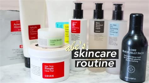 Jw Acne Skincare my s korean skincare routine for acne prone skin