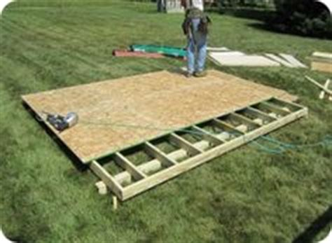 Plywood Shed Floor by 1000 Images About Built On Site Shed Installations On