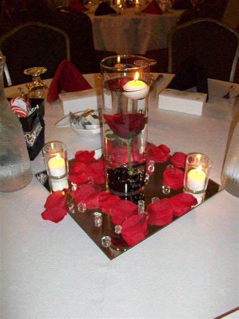 wedding table decor rectangular tables event center