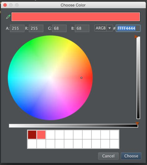hex color chooser android tips 2 android studio productivity