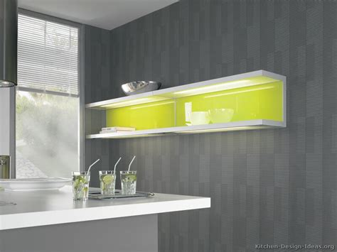 Top Shelf Light by Pictures Of Kitchens Modern Gray Kitchen Cabinets