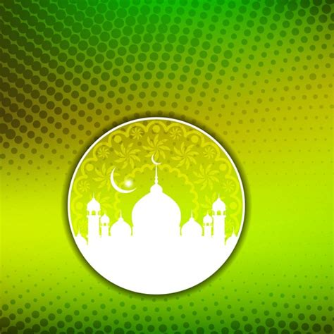 islam colors green color islamic background vector free