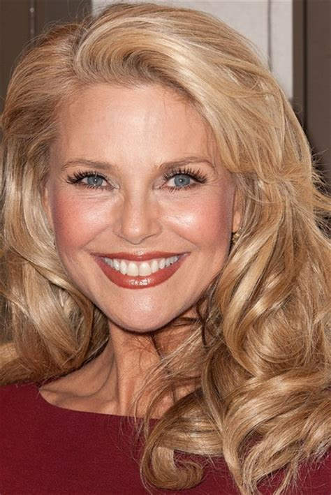 young looking updos at fifty 100 best muse christie brinkley images on pinterest