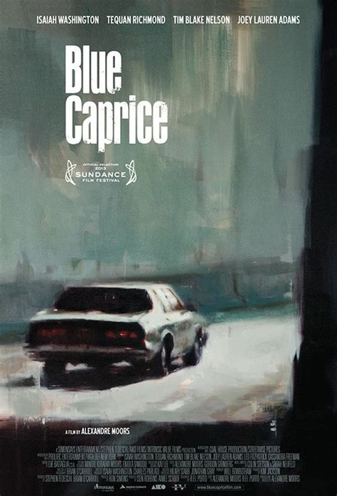 Blue Caprice 2013 Blue Caprice Movie Poster 1 Of 3 Imp Awards