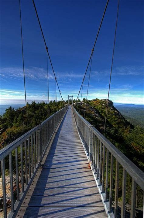 grandfather mountain mile high swinging bridge pin by dennis duston on books worth reading pinterest