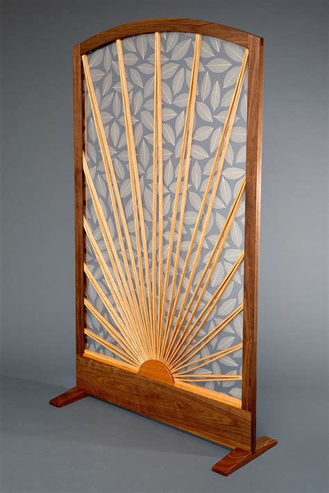 Sun Leaf Room Divider Fine Hardwood Furniture Seth Room Divider Screen