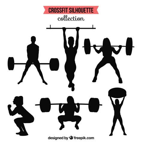 imagenes fitness dibujos silhuetas cole 231 227 o de pessoas fazendo crossfit baixar