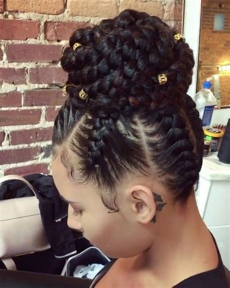 i want to see hairstyles on ghana braids best 25 cornrows with bun ideas on pinterest braids in