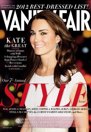 How Did Vanity Fair Magazine Get Its Name Could You Beat The Duchess Of Cambridge To The Best