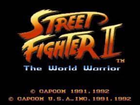Street fighter ii the world warrior screenshots gamefabrique