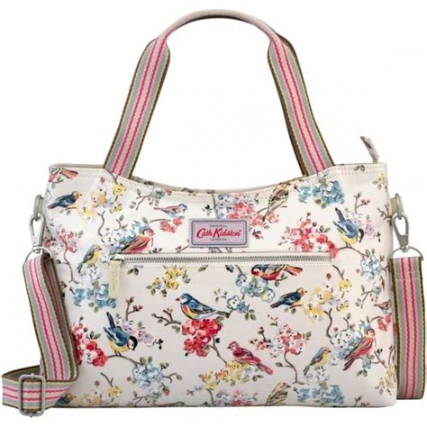 Cath Kidston Blossom cath kidston blossom birds zipped handbag 556330
