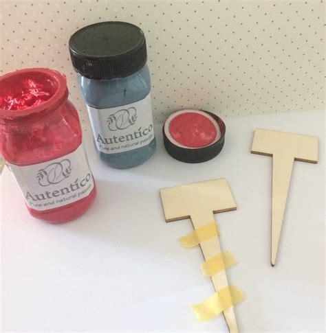 comprar autentico chalk paint en barcelona diy marcador de macetas y plantas con chalk paint diy