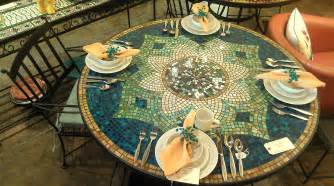tisch mosaik dining table dining table mosaic