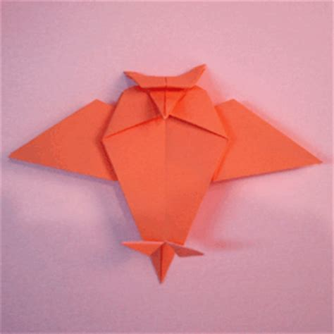 paper bird how to make a owl origami papermodeler