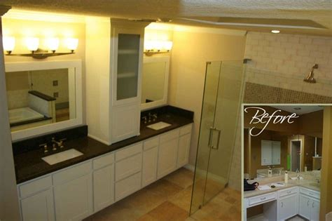 before and after master bathroom remodels before and after bathroom remodels traditional