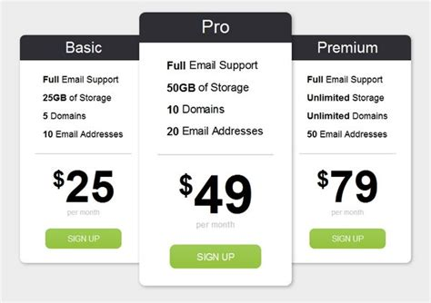 download 30 free pricing table templates design css3 psd wp download bootstrap dropdown menu exle toast nuances