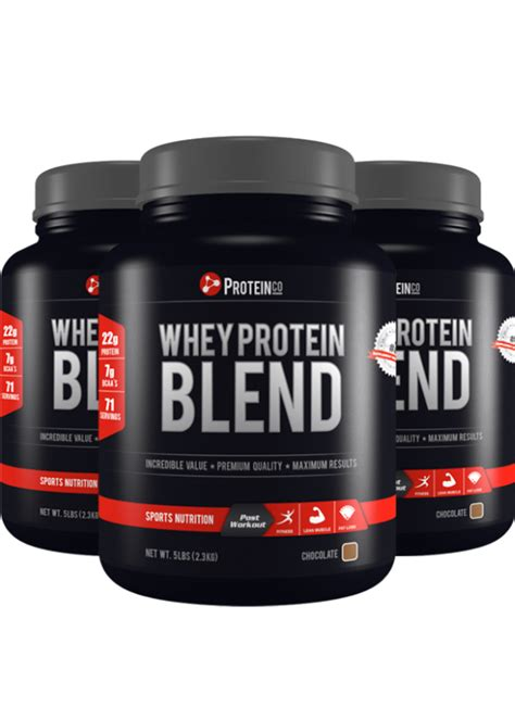 Whey Protein Blend whey protein differences