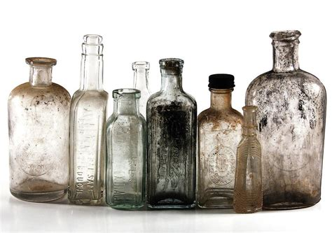 Apps For Decorating Your Home Antique Bottles Digital Art By Richard Ortolano