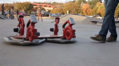 research paper on hovercraft diy leaf blower powered hovercraft now with skateboard