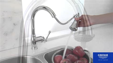 Grohe Concetto Kitchen Faucet by Grohe Bridgeford Product Video Youtube