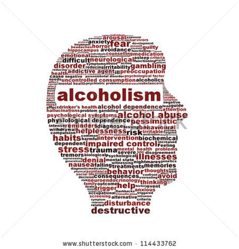 Detox For Alcoholism by Addiction Stock Illustrations