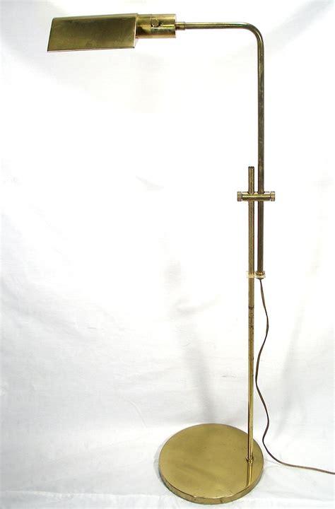 vintage mid century floor l vintage mid century modern swing arm adjustable brass