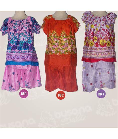 Dress Bunga Biru Kerut baby doll bali dengan harga murah grosir dan retail