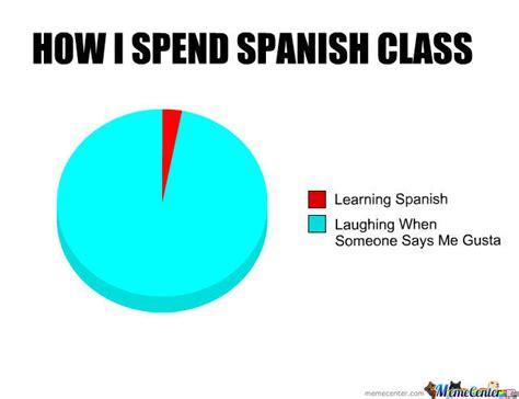 Meme In Spanish - i hate spanish class by lolguy524 meme center