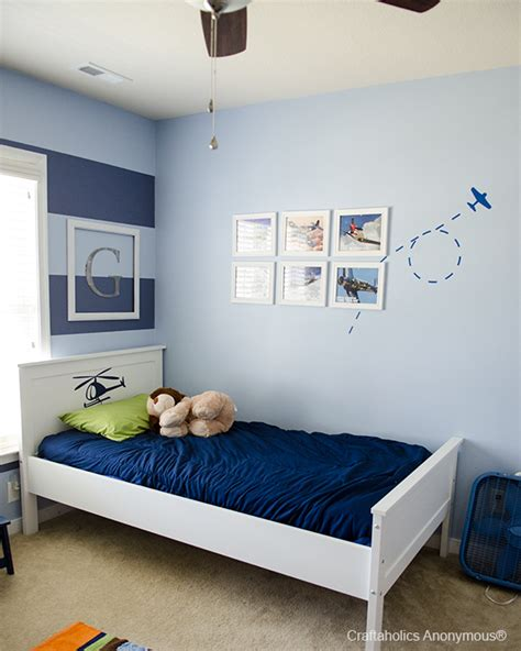 boys bedroom paint ideas stripes craftaholics anonymous 174 airplane wall