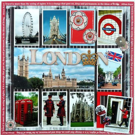 scrapbook layout travel papercraft scrapbook layout travel london scrapbook