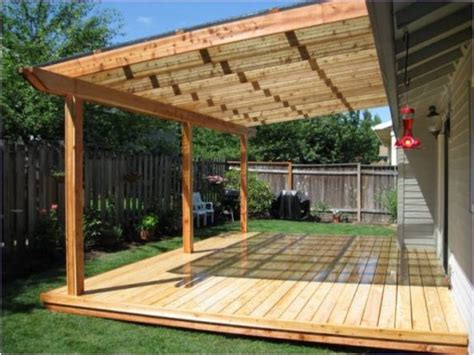 Build Your Own Patio Cover Get Minimalist Impression How To Build A Patio Deck