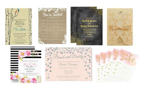 Top 10 Best Bridal Shower Invitations   Heavy.com