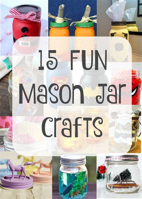 crafts to do with crafts using jars 183 the typical