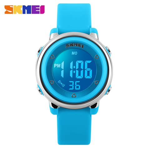 Gratis Ongkir Skmei Children Sport Silicone Led Limited 2016 skmei sport led digital jelly silicone divering sports watches