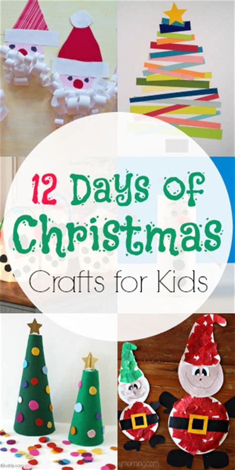 twelve days of christmas crafts 12 days of crafts for blissfully domestic