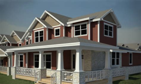 Garage Plans With Porch Townhomes At Bucking Horse Bellisimo Inc Fort